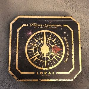 Lorac Pirates of the Caribbean Eyeshadow Palette